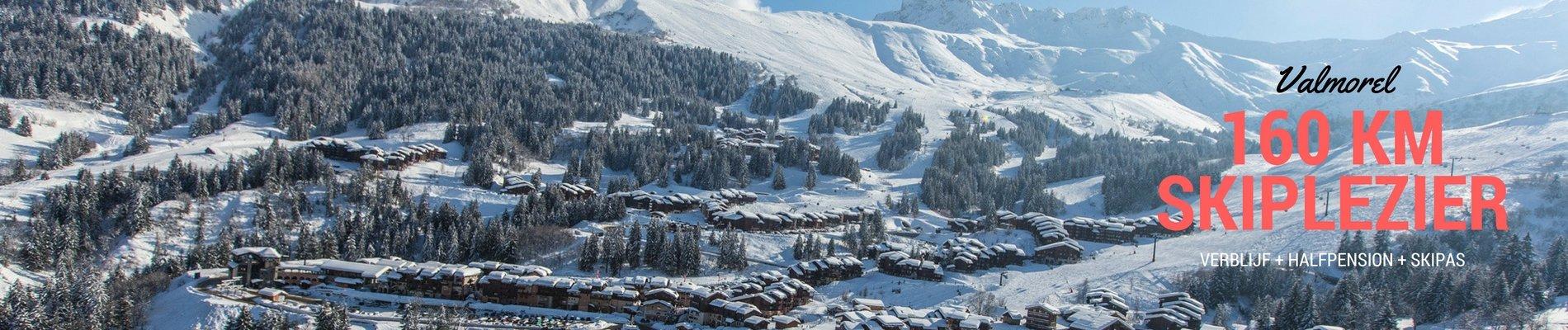 Valmorel banner ski total