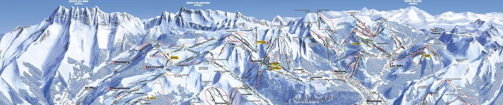 portes-du-soleil-skigebied-pistekaart