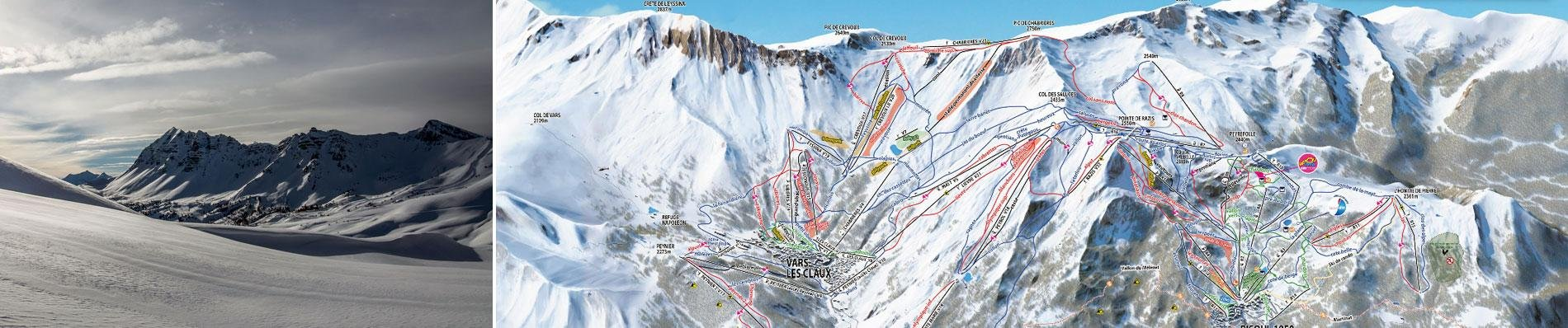 vars risoul foret blanche cgh panorama vars 2000