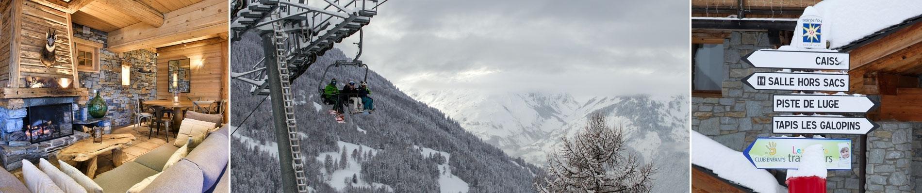 sainte foy chalet white eden ski frankrijk wintersport