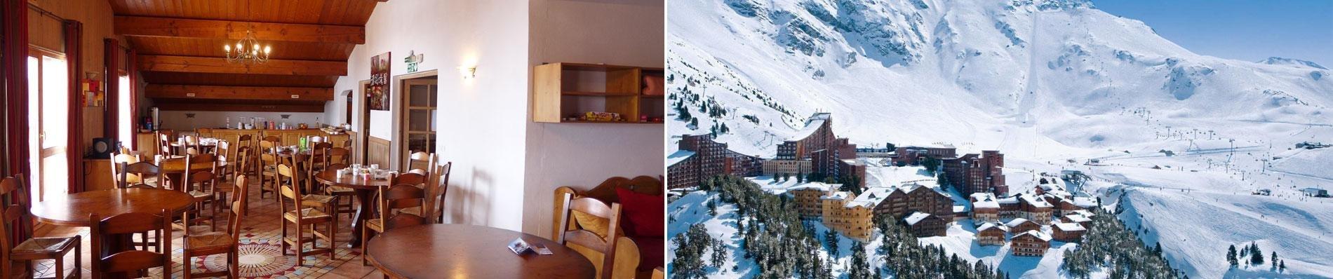 Frankrijk wintersport 2020 val thorens les arc chalet des neiges
