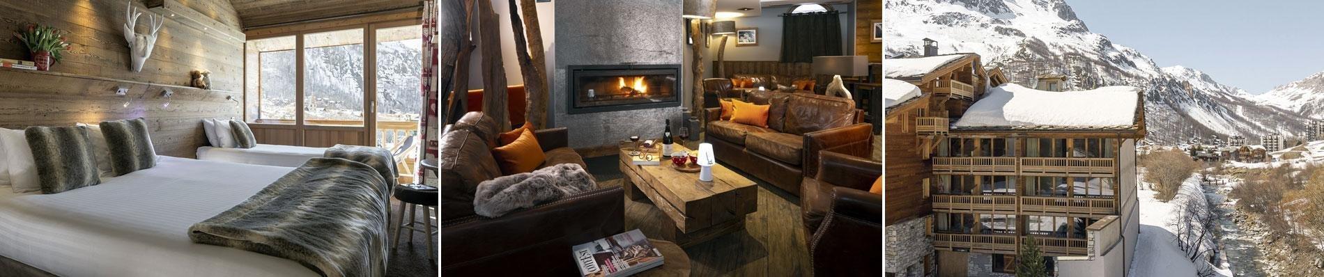 VILLAGE-MONTANA SKI LODGE val d isere wintersport skivakantie