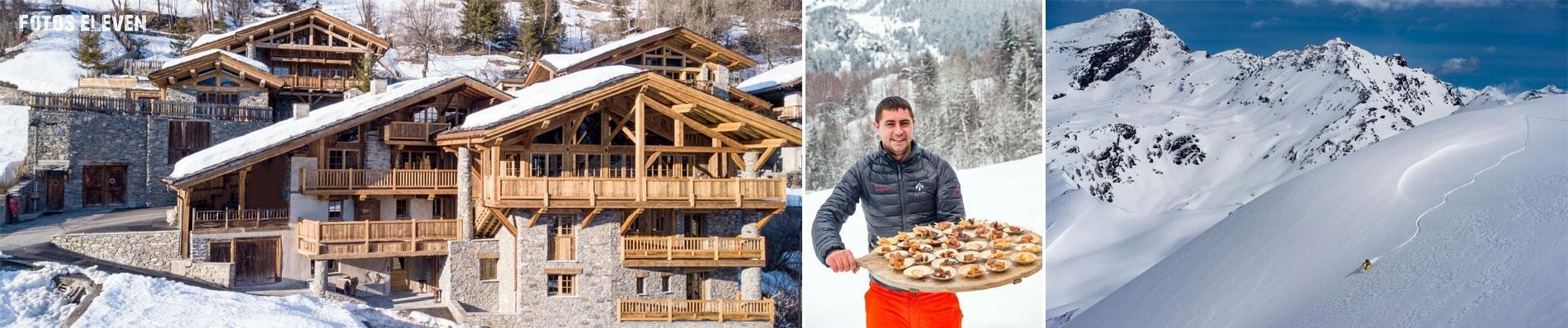SKI-ELEVEN EXPERIENCE CHALET LE MIROIR HIBOU wintersport