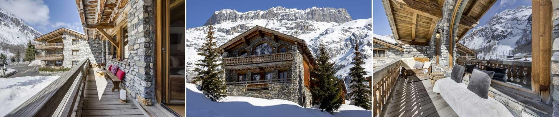 CHALET-LUXE LA BOUCLIA val d isere wintersport ski