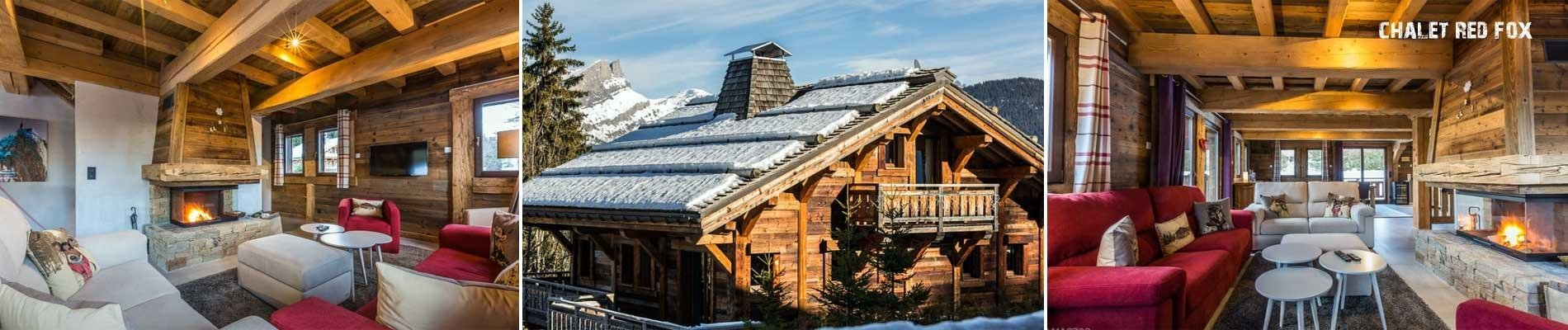 Chalet Saint Gervais wintersport ski vakantie hameau du renard blanc