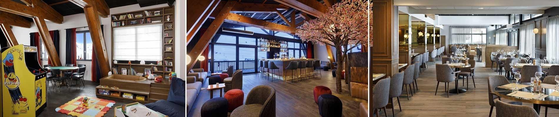 hotel marielle val thorens assas ski wintersport